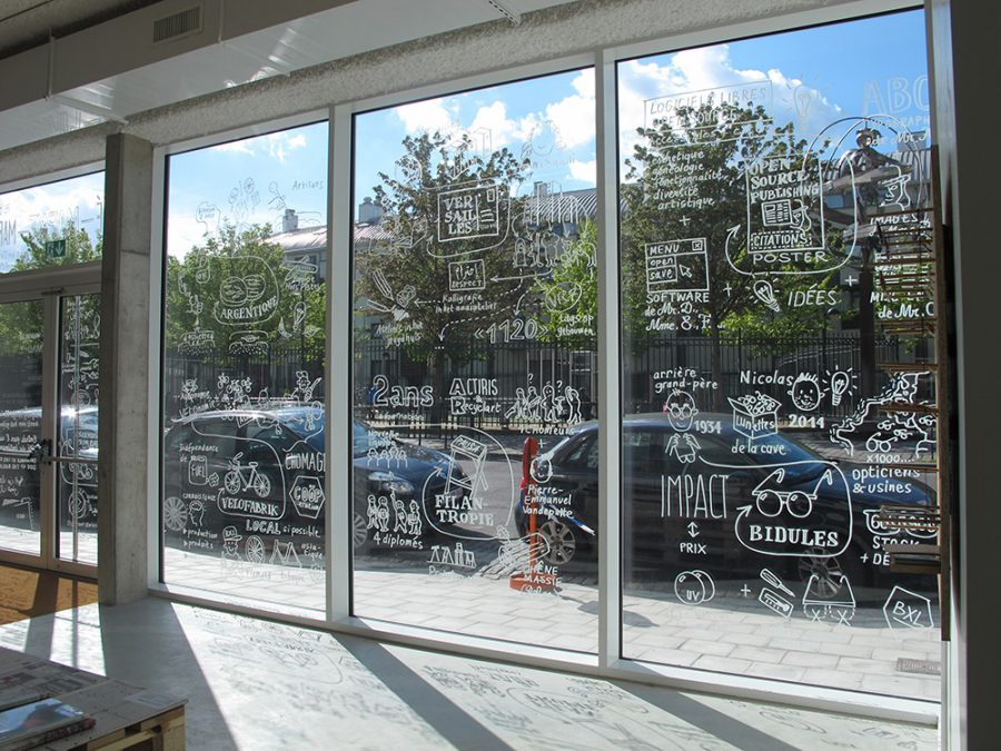 MAD Brussels Market – Window drawing